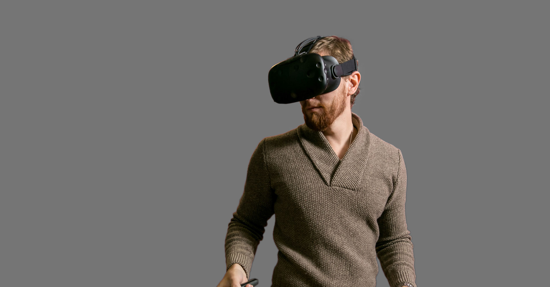 A man who does vr modeling.