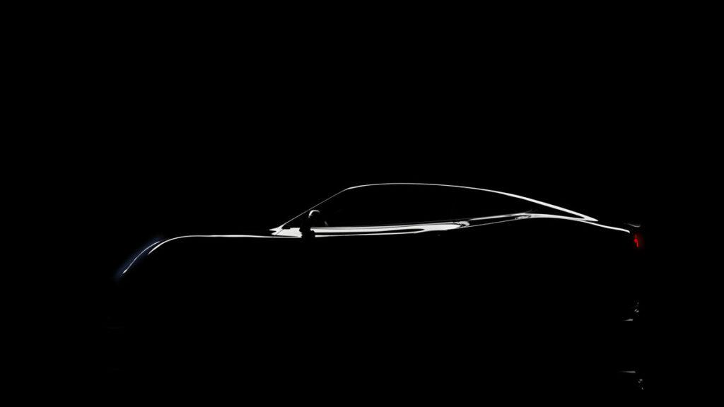 Car design of a silhouette